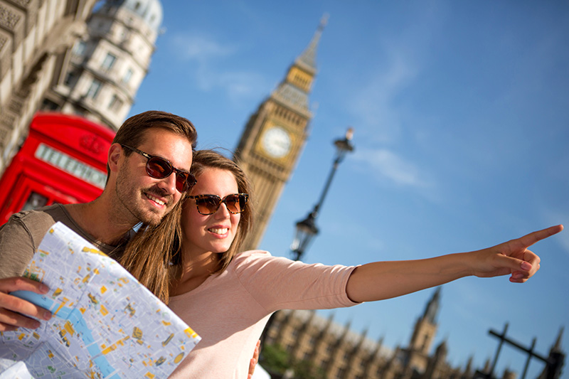 Cartina Di Londra Monumenti.Mappa Con I Monumenti Di Londra Fidelity Viaggi