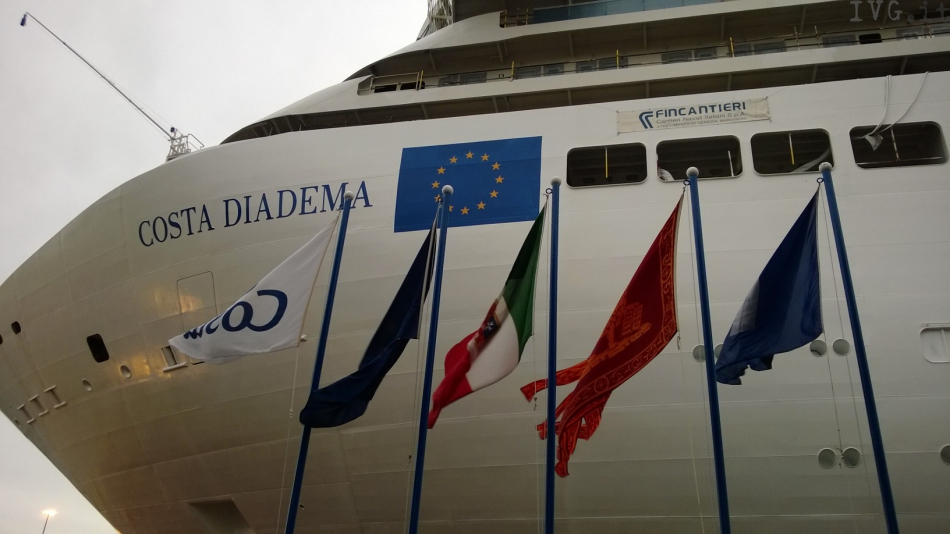 Costa Diadema: una new entry in casa Costa Crociere