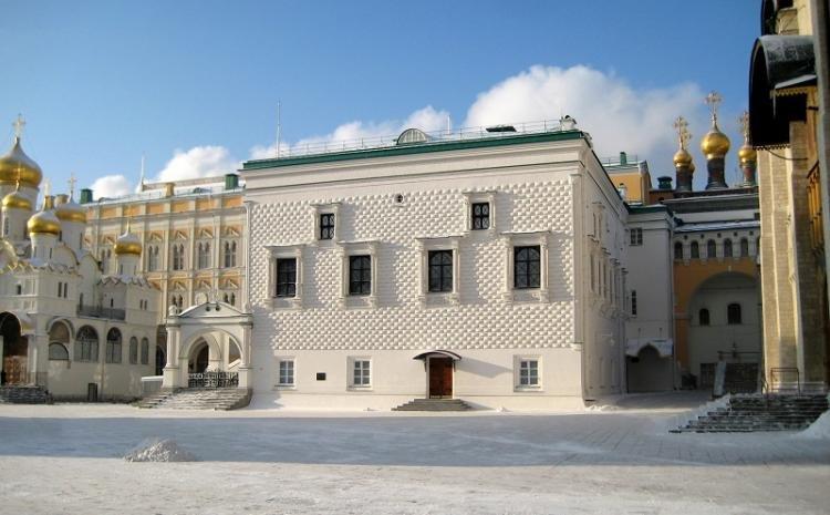 Palazzo delle Faccette a Mosca