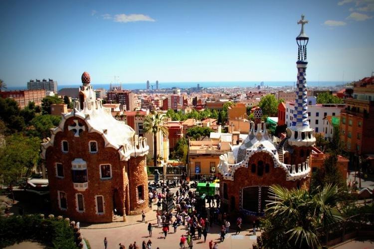 Parco Guell a Barcellona
