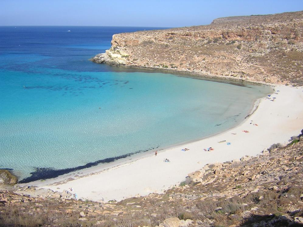 Tra le venti spiagge più belle d'Italia anche Zingaro, Lampedusa e Levanzo
