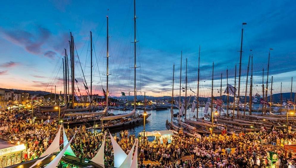 A Saint Tropez per assistere alla regata