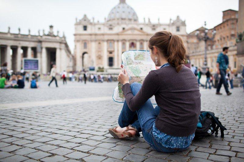 Roma Centro Storico Cartina.Mappa Con I Monumenti Di Roma Fidelity Viaggi