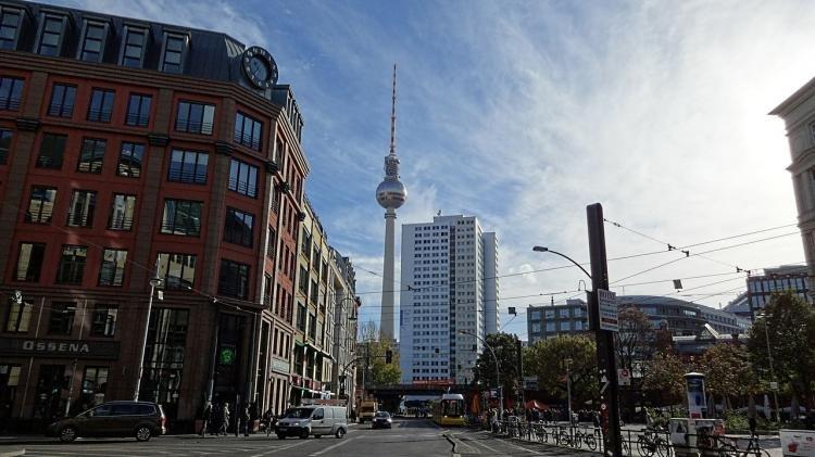 Alexanderplatz di Berlino