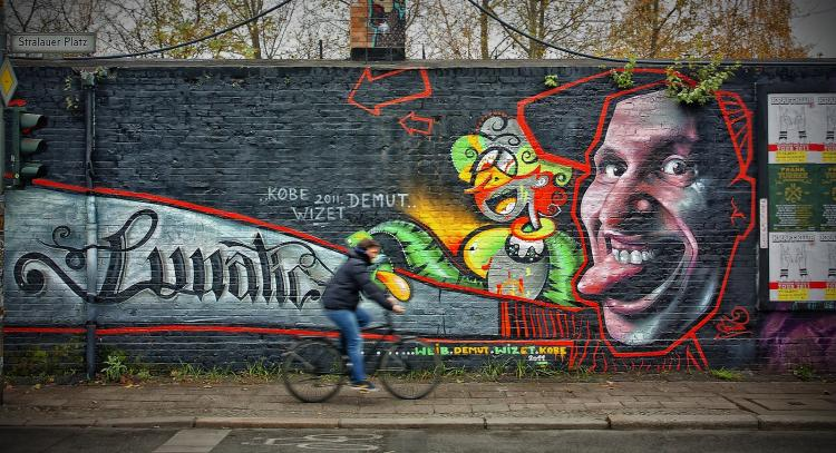 East Side Gallery di Berlino