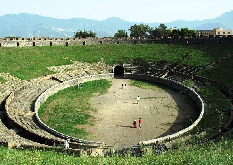 L'anfiteatro di Pompei diventa arena musicale