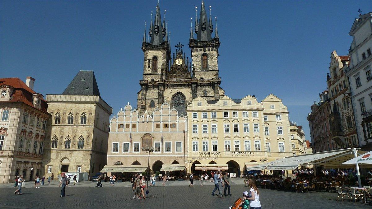 Mappa con i monumenti di Praga - Fidelity Viaggi