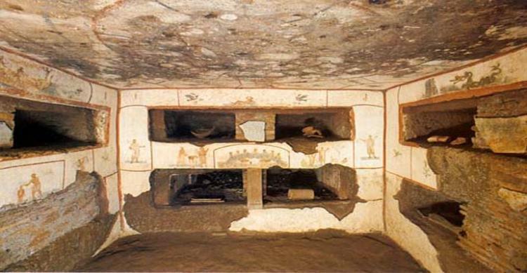 Catacombe di Domitilla a Roma
