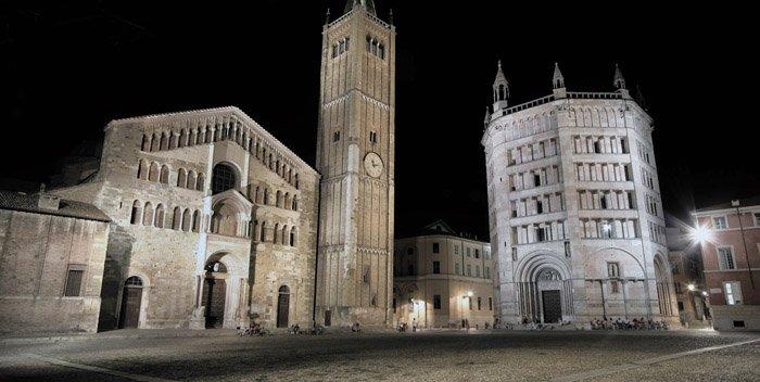 Piazza Duomo a Parma