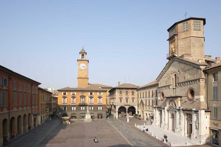 Piazza Prampolini a Reggio Emilia