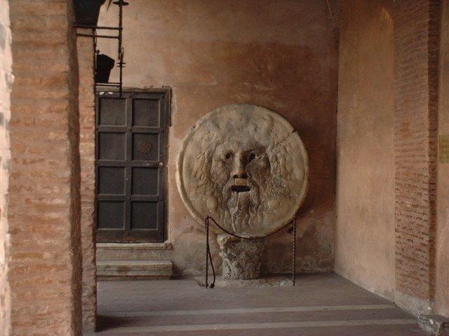 Bocca della Verità a Roma