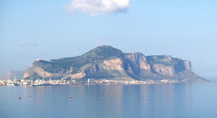 Monte Pellegrino e Santuario di Santa Rosalia a Palermo