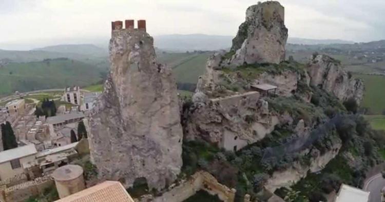 Castello di Pietrarossa a Caltanissetta