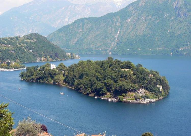 Isola Comacina nel Lago di Como