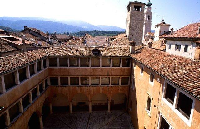 Palazzo della Crepadona a Belluno