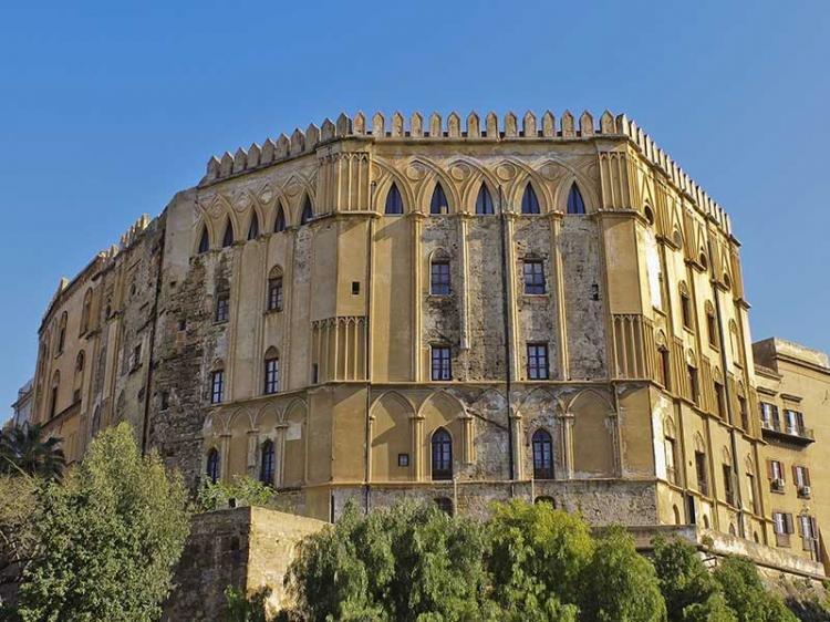 Palazzo dei Normanni e Cappella Palatina a Palermo