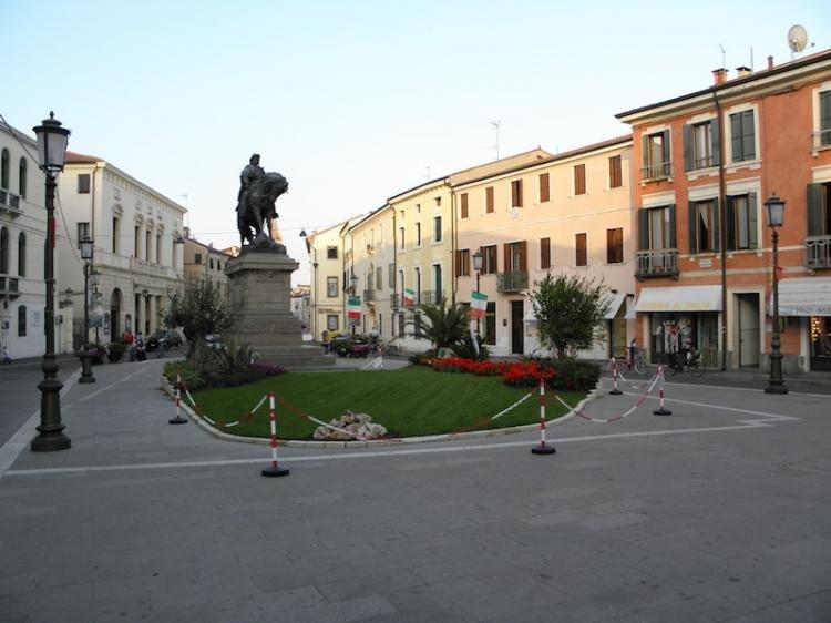 Piazza Garibaldi a Rovigo