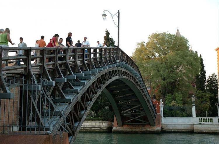 Ponte dell'Accademia a Venezia
