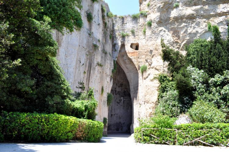 Orecchio di Dionisio a Siracusa