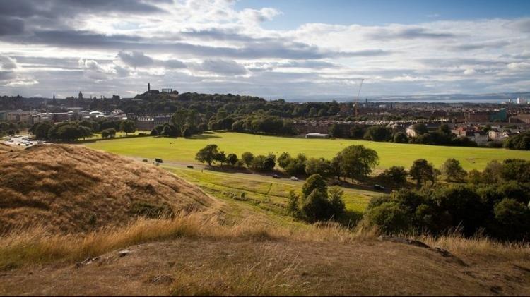 Holyrood Park di Edimburgo