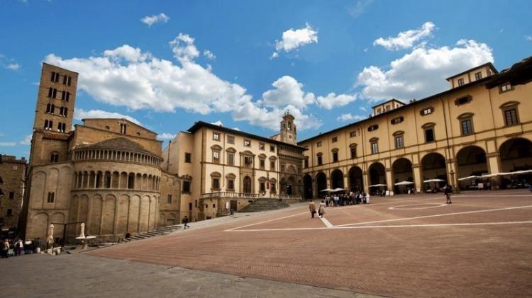 Piazza Grande ad Arezzo