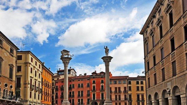 Piazza dei Signori a Vicenza