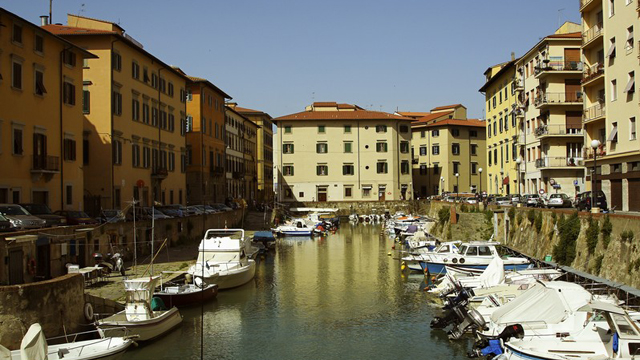 Quartiere Venezia Nuova a Livorno