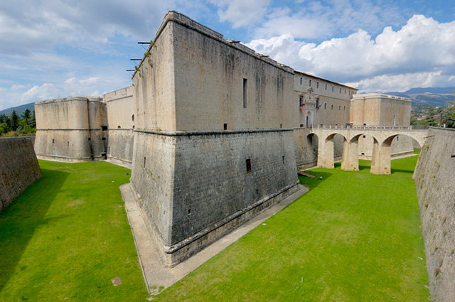 Forte Spagnolo a L'Aquila