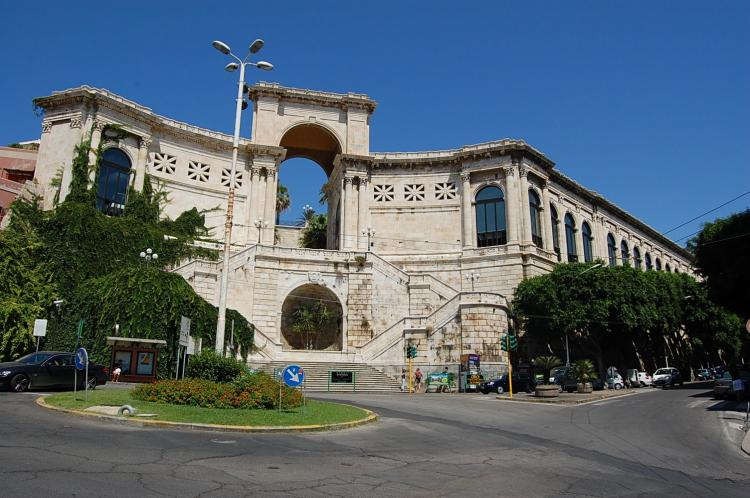 Bastione di Saint Remy a Cagliari