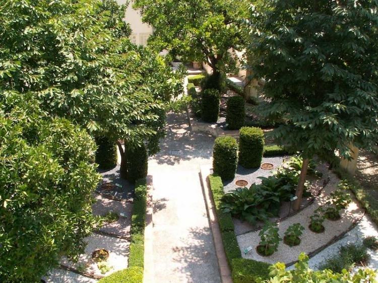 Giardino della Minerva a Salerno