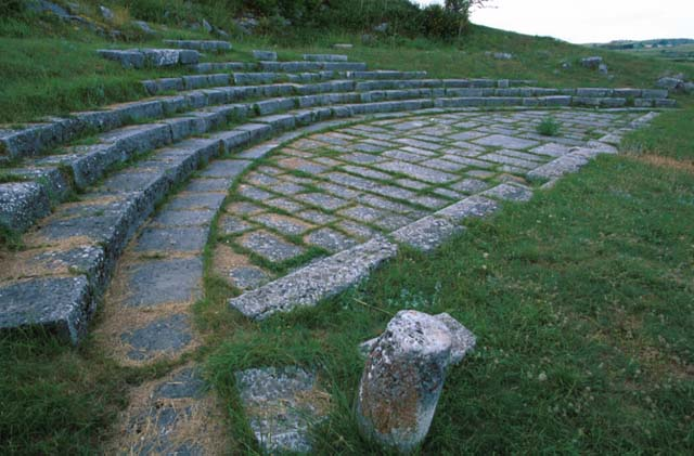 Parco archeologico di Juvanum a Montenerodomo