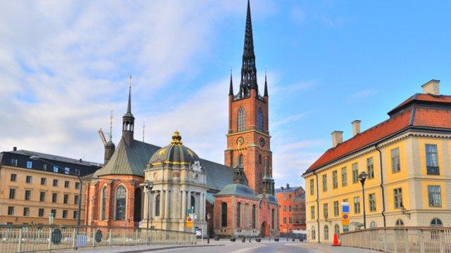 Chiesa di Riddarholmen a Stoccolma