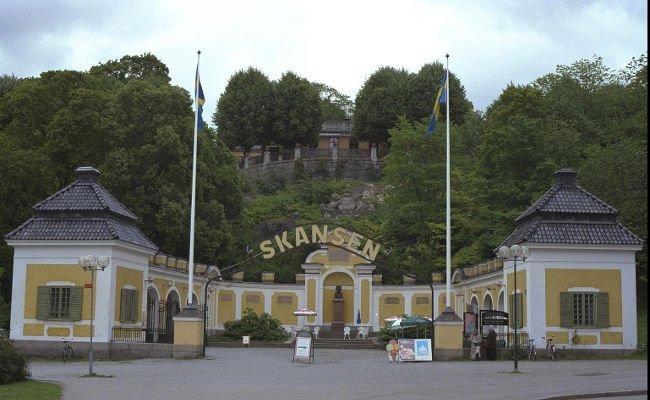 Skansen a Stoccolma