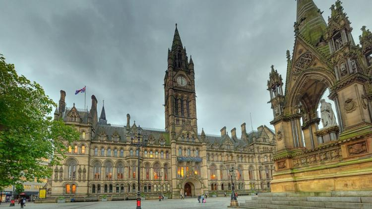 Town Hall di Manchester