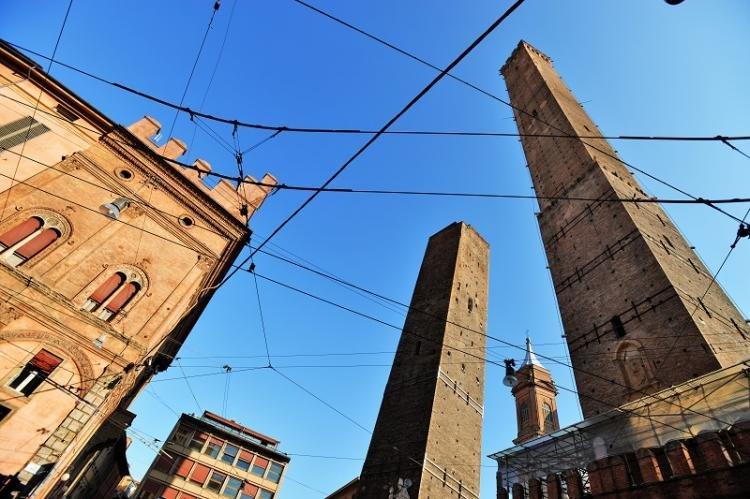 Torri degli Asinelli e di Garisenda a Bologna