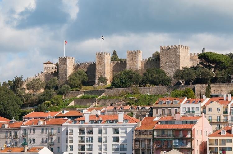 Castello di San Giorgio a Lisbona