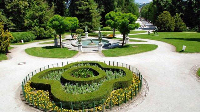 Parco Tivoli a Lubiana
