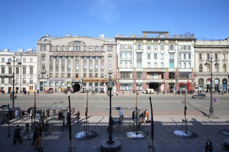 Prospettiva Nevsky a San Pietroburgo