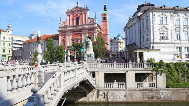 Triplo Ponte di Lubiana