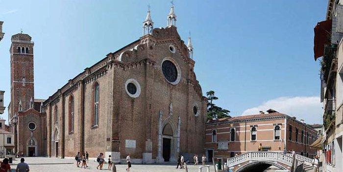 Basilica dei Frari a Venezia