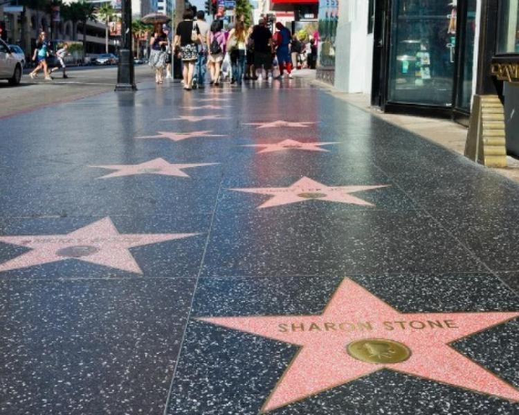 Walk of Fame di Hollywood a Los Angeles
