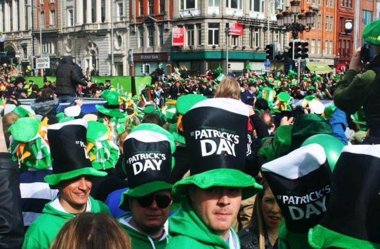 Festa di San Patrizio a Dublino