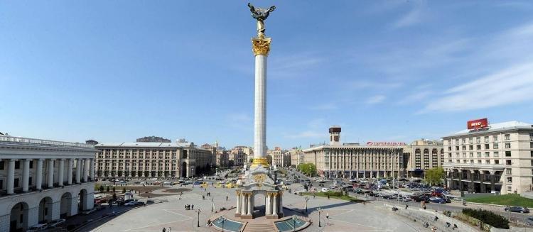 Piazza dell'Indipendenza di Kiev