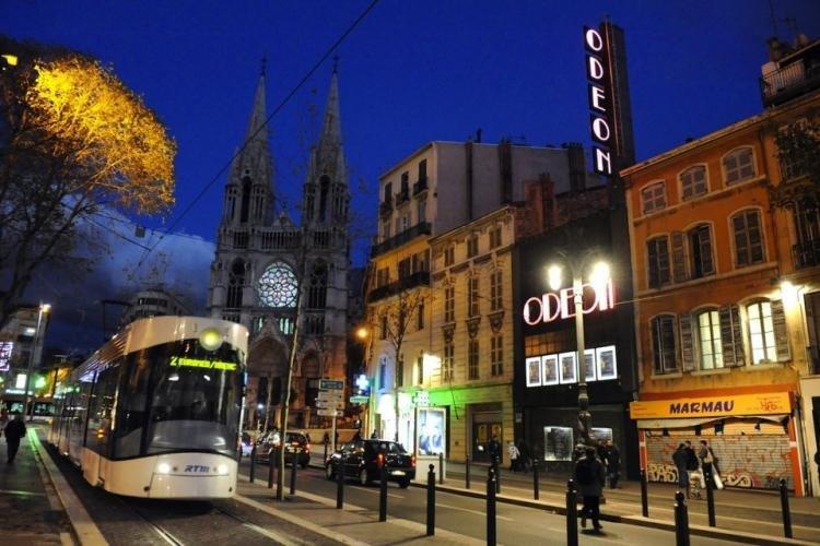 Canebière di Marsiglia