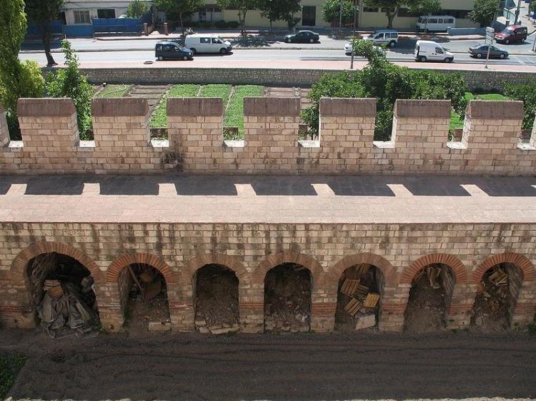 Mura di Costantinopoli ad Istanbul
