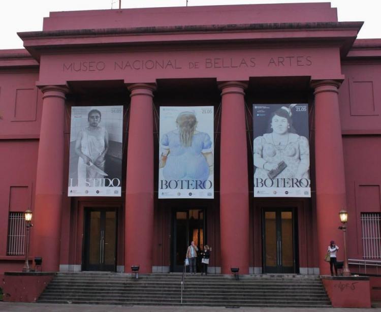 Museo Nacional de Bellas Artes di Buenos Aires