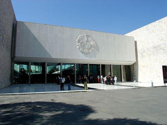 Museo Nazionale di Antropologia a Città del Messico