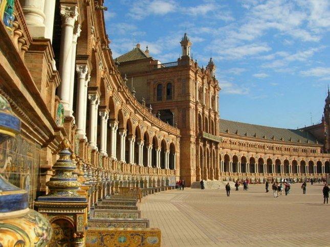 Plaza de España a Siviglia