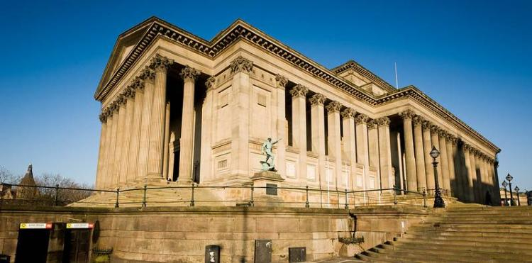St. George's Hall di Liverpool