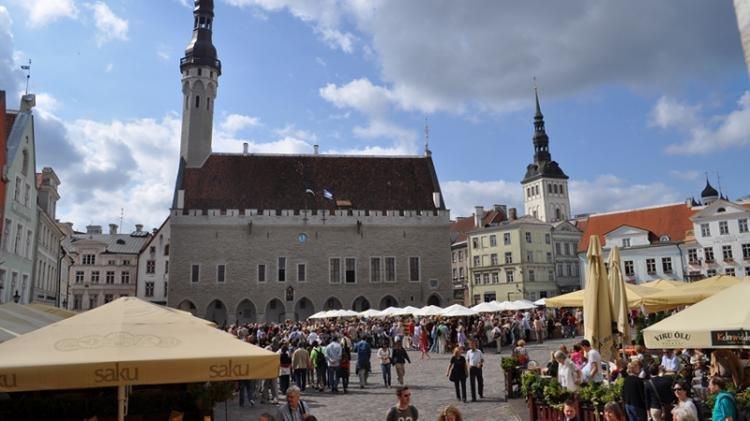 Piazza Raekoja a Tallinn